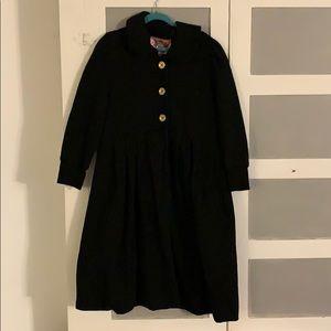 Juicy Couture 3/4 length fleece cotton jacket